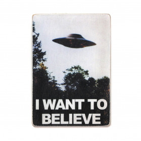 "Постер ""The X-Files. I want to believe"""