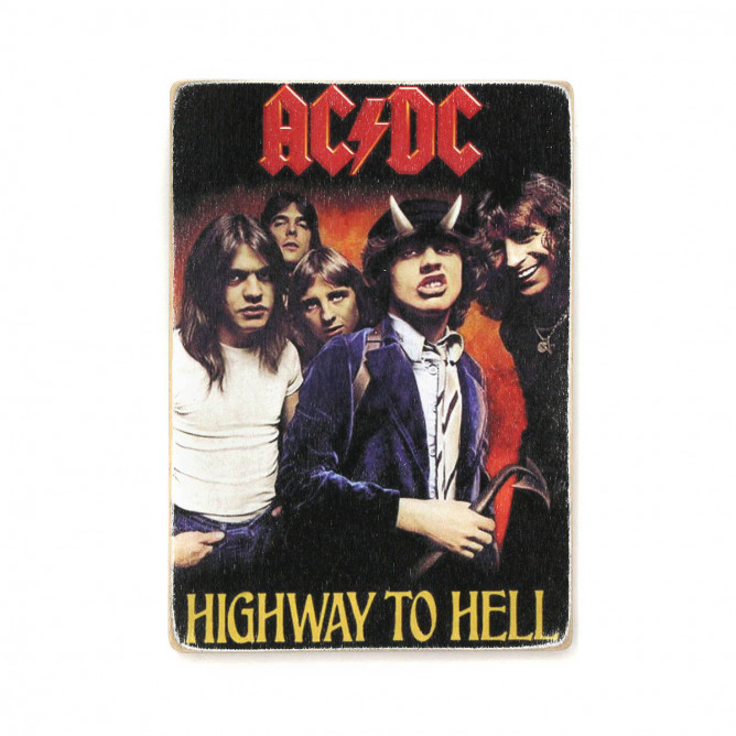 "Постер ""AC/DC. Highway to Hell"""