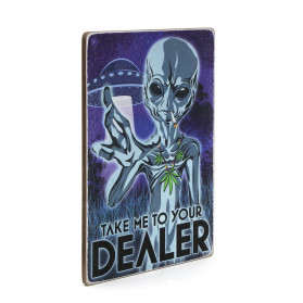 "Постер ""Take me to your dealer"""