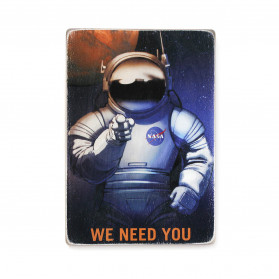 "Постер ""NASA needs you"""