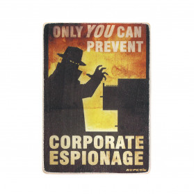 "Постер ""Fallout. Only you can prevent corporate espionage"""