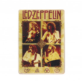 "Постер ""Led Zeppelin. Лед Зеппелін. Склад. Колаж"""