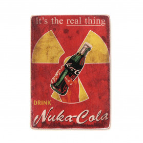 "Постер ""Fallout. It's the real thing. Nuka Cola"""